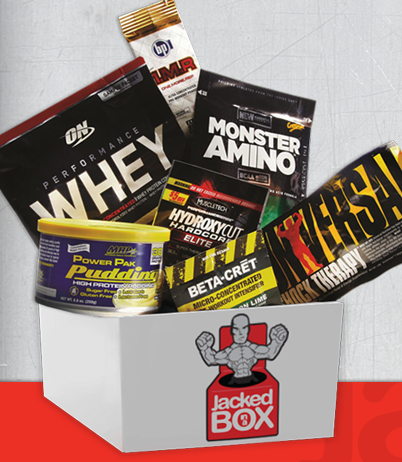 New Subscription Box Alert! Jacked In A Box - Fitness Supplements