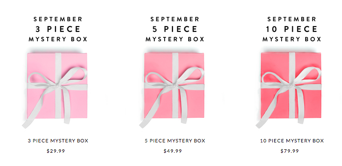 Jewelmint September Mystery Box Time!