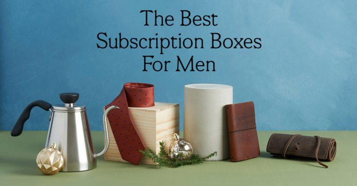 1652318e75fc The 14 Best Subscription Box Gifts for Men