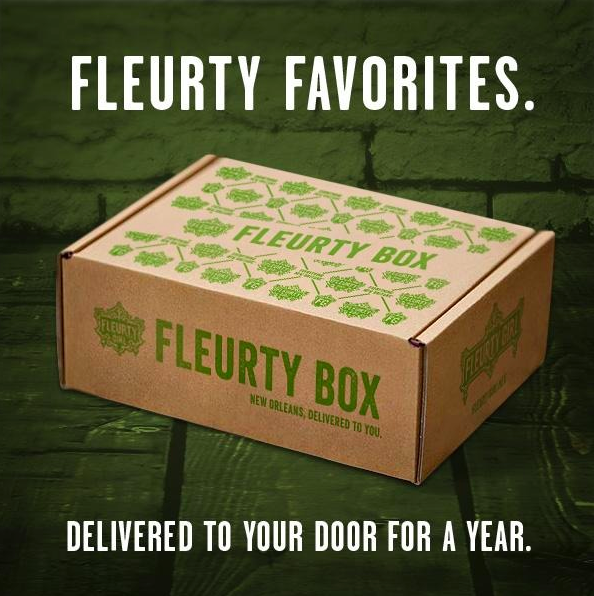 Fleurty Box - A New Subscription Box from New Orleans