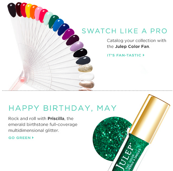 The May Julep Secret Store is now Open! Swatches