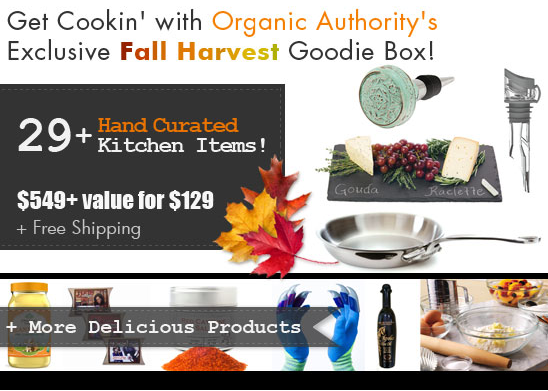 Organic Authority's Fall Goodie Box Launches Today at 11 AM EST!
