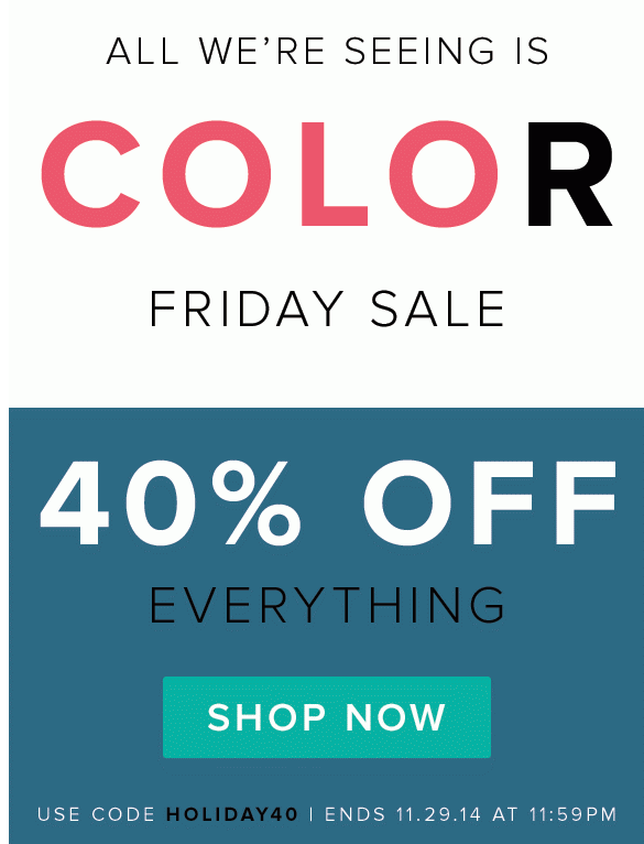 Darby Smart Black Friday Sale - 40% Off Everything