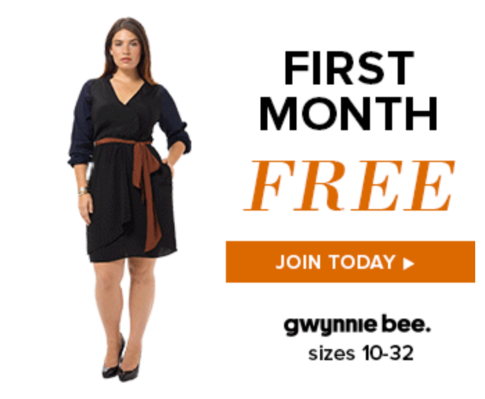 Get Your First Month of Gwynnie Bee for Free