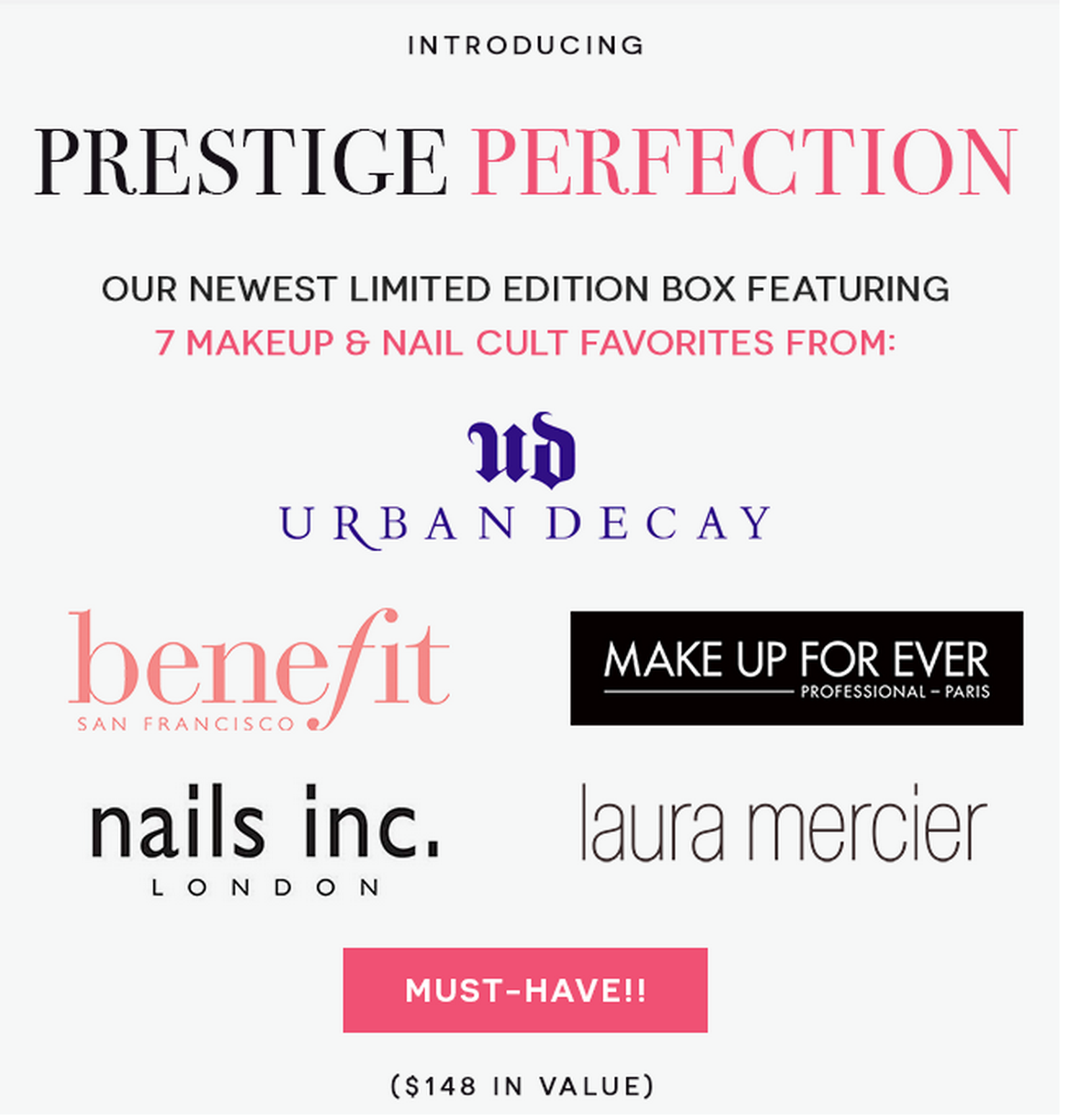 Beauty Box 5 Prestige Collection