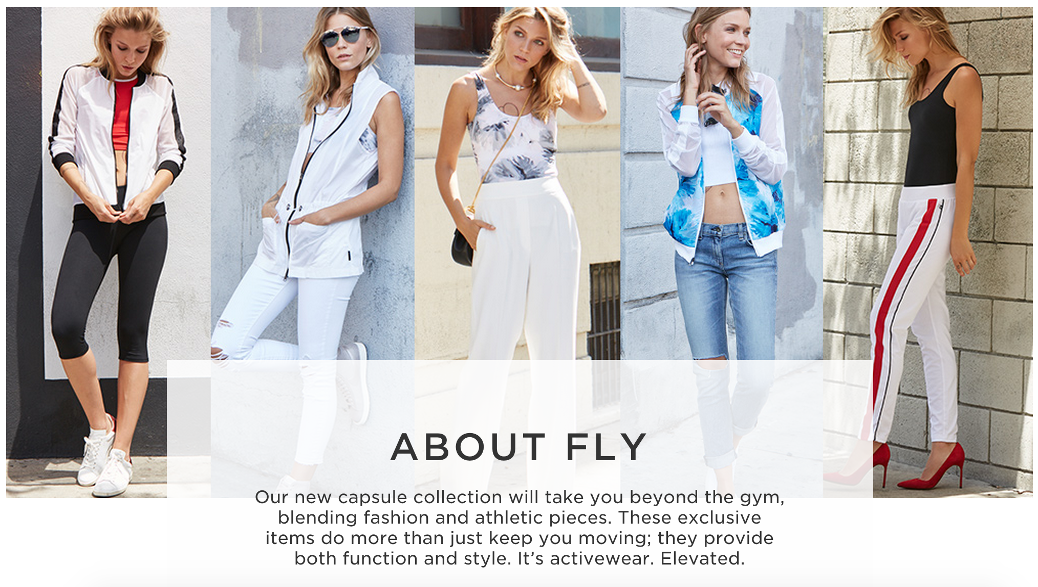 New FLY Capsule Collection from Fabletics + 50% Off Coupon About Fly