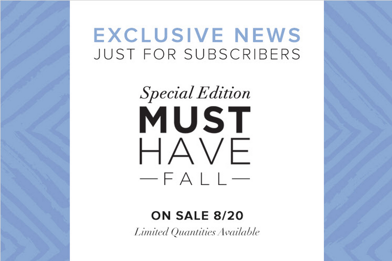 POPSUGAR Must Have Fall Special Edition 2015