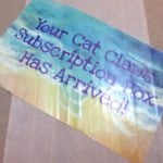 Cat Claws Club Subscription Box Review – May 2016
