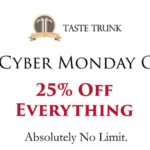Taste Trunk Cyber Sale – 25% Off Everything!