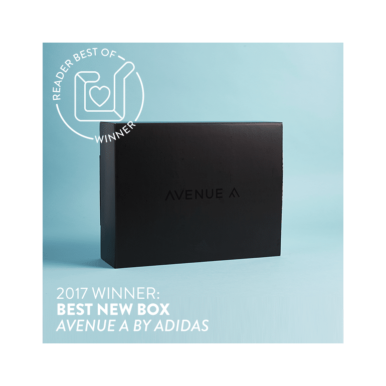 Avenue A by Adidas - Best New Subscription Box 2017