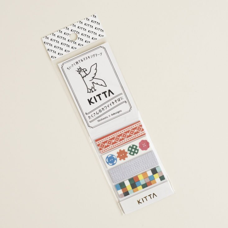 kitta washi tape stickers