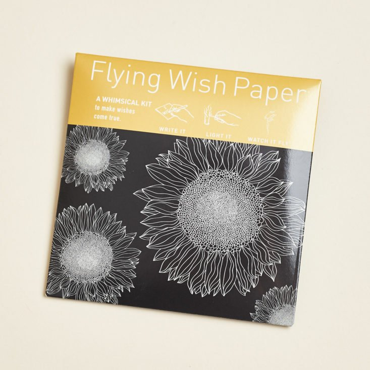 wish paper package