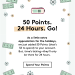 24 Hours Only! Birchbox Subscribers Get 50 Extra Points to Spend!