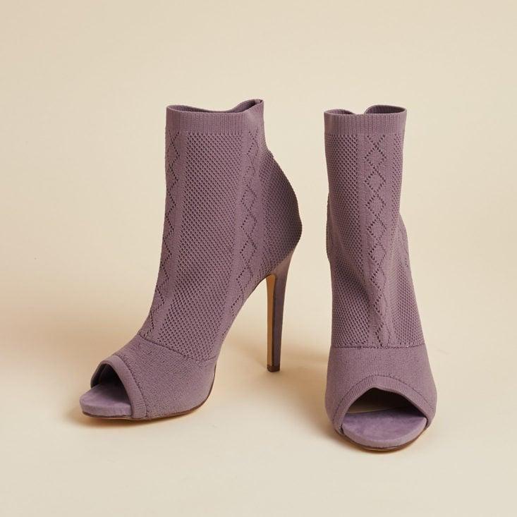 lilac heels with peeptoes