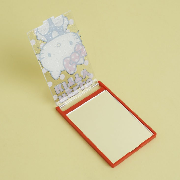 hello kitty mirror, open