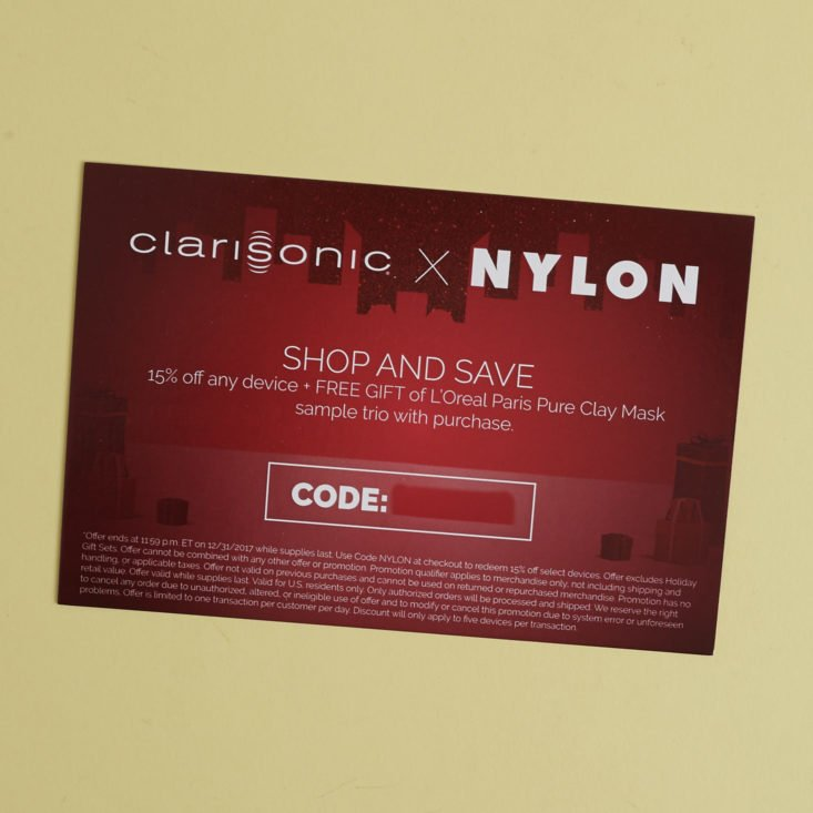 clarisonic coupon