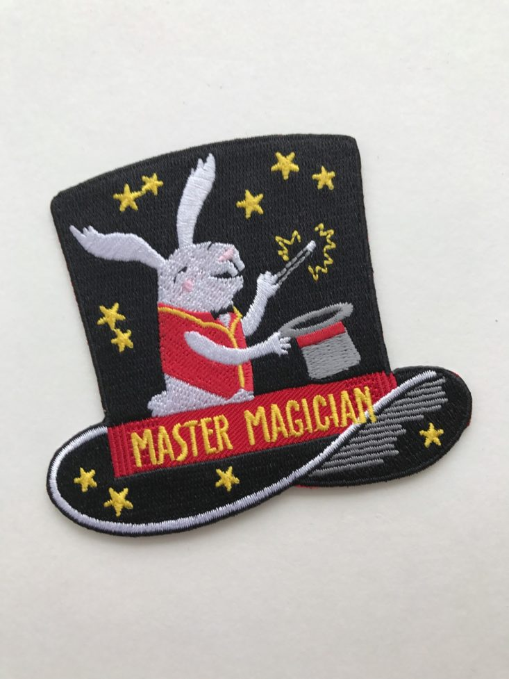 Master Magician Patch