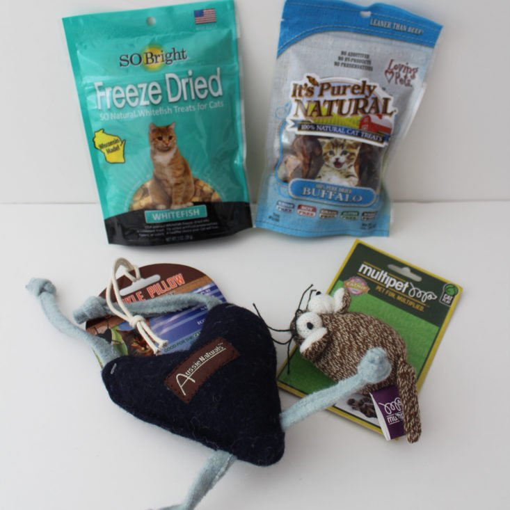 Pet Treater Cat Pack January 2018 Review
