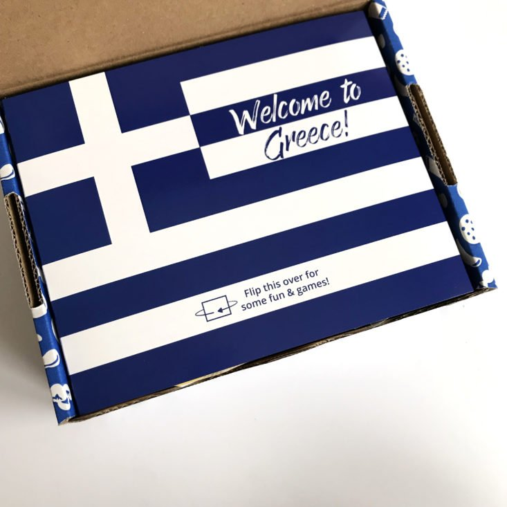 Universal Yums Greece January 2018 - Box Open
