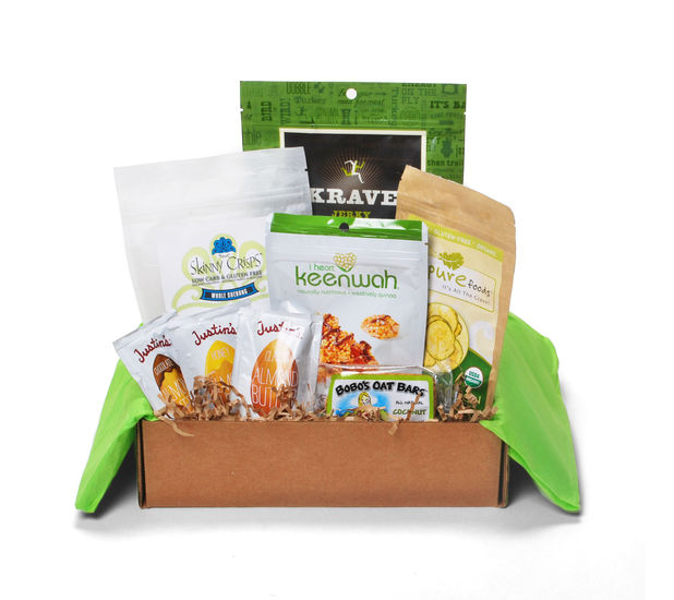 joyus january tasting box - healthy snacks
