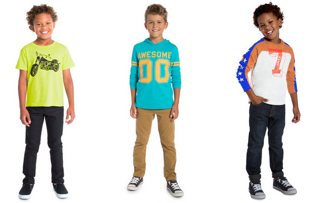 New FabKids August Collections Plus 50% Off Coupon! Boys