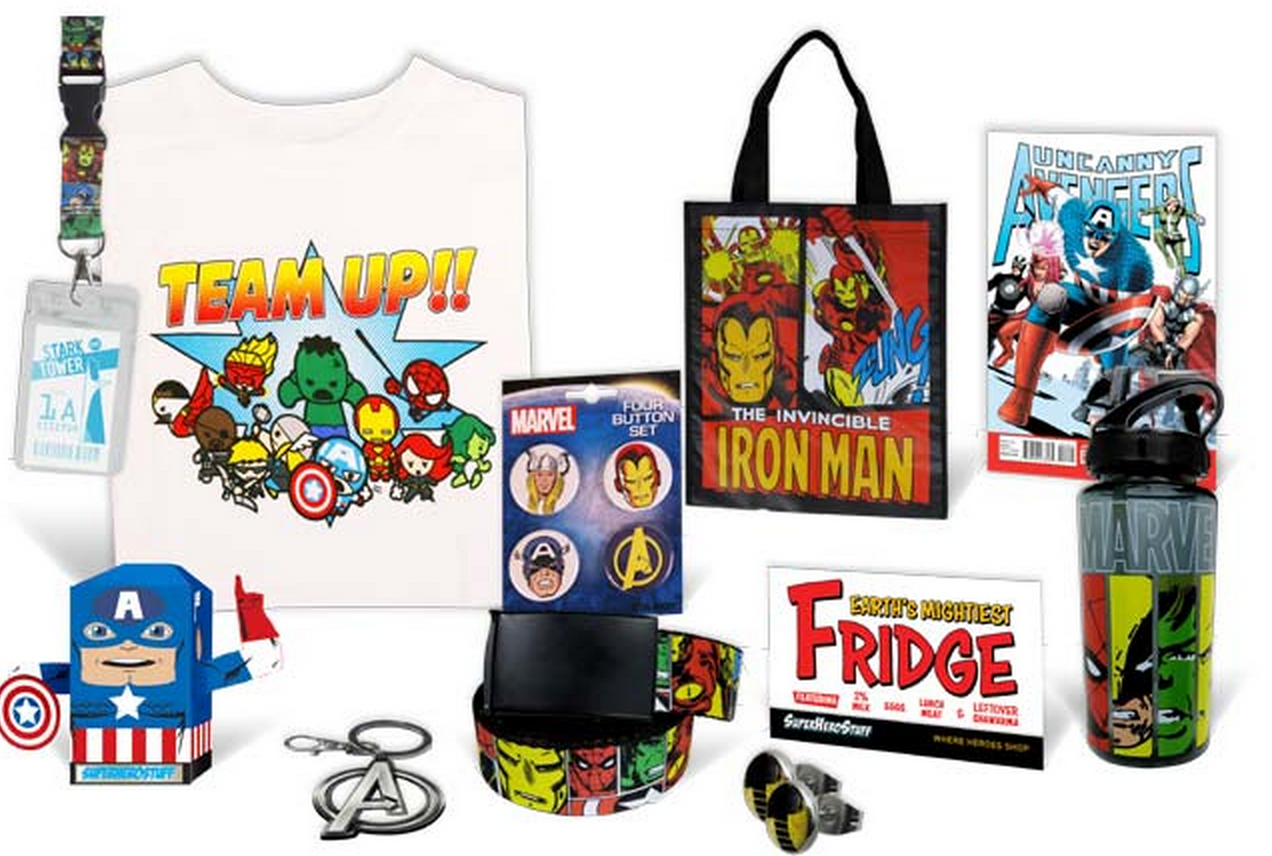 New Super Hero Geek Box - Hero Box! Iron Man