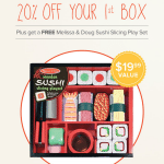 Free Sushi Slicing Toy + 20% Off First Month of Citrus Lane!