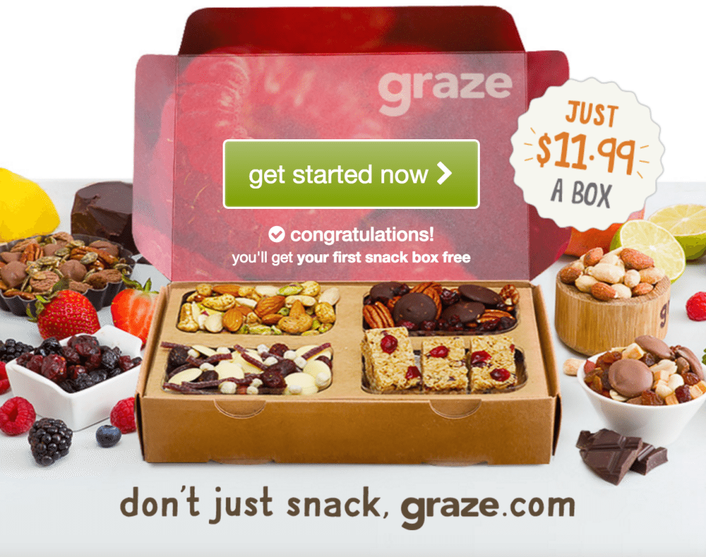 Cheap Subscription Boxes and Free Subscription Boxes - Graze