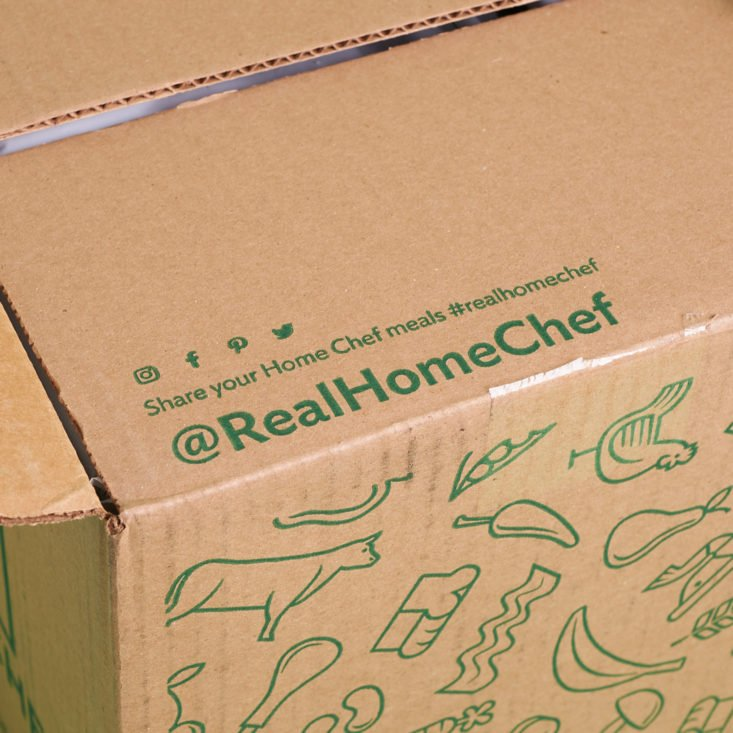 home chef box lid