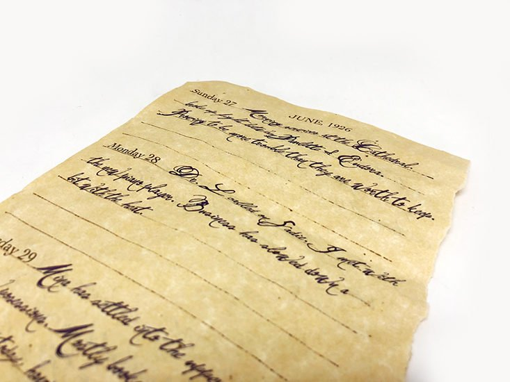November Letters from Dead People