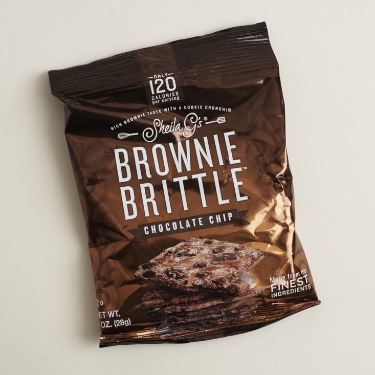 Sheila G's Browie Brittle package