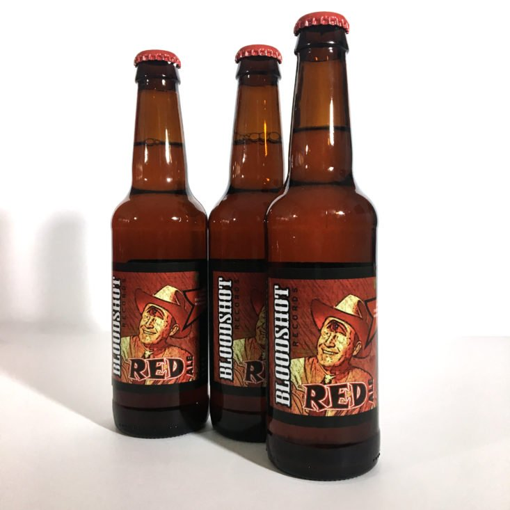 The Microbrewed Beer of the Month Club November 2017 - Bloodshot Red Ale
