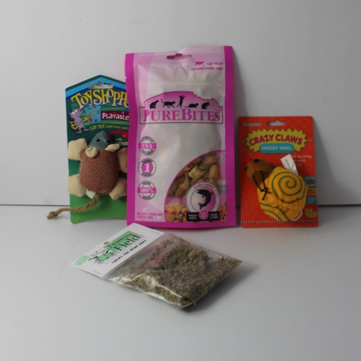 Pet Treater Cat Pack March 2018 Review