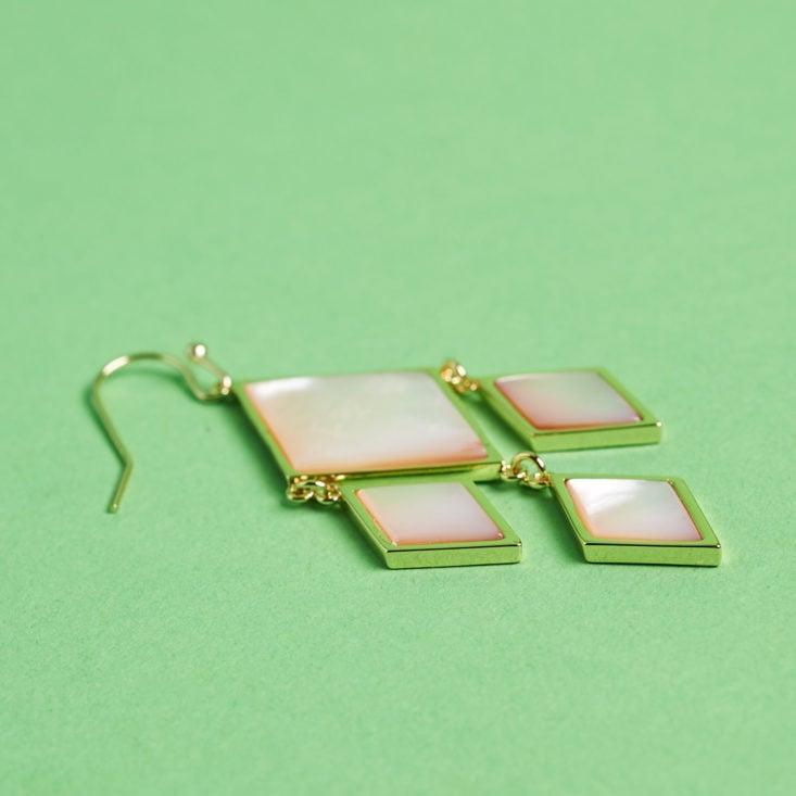 diamond earrings with white gems