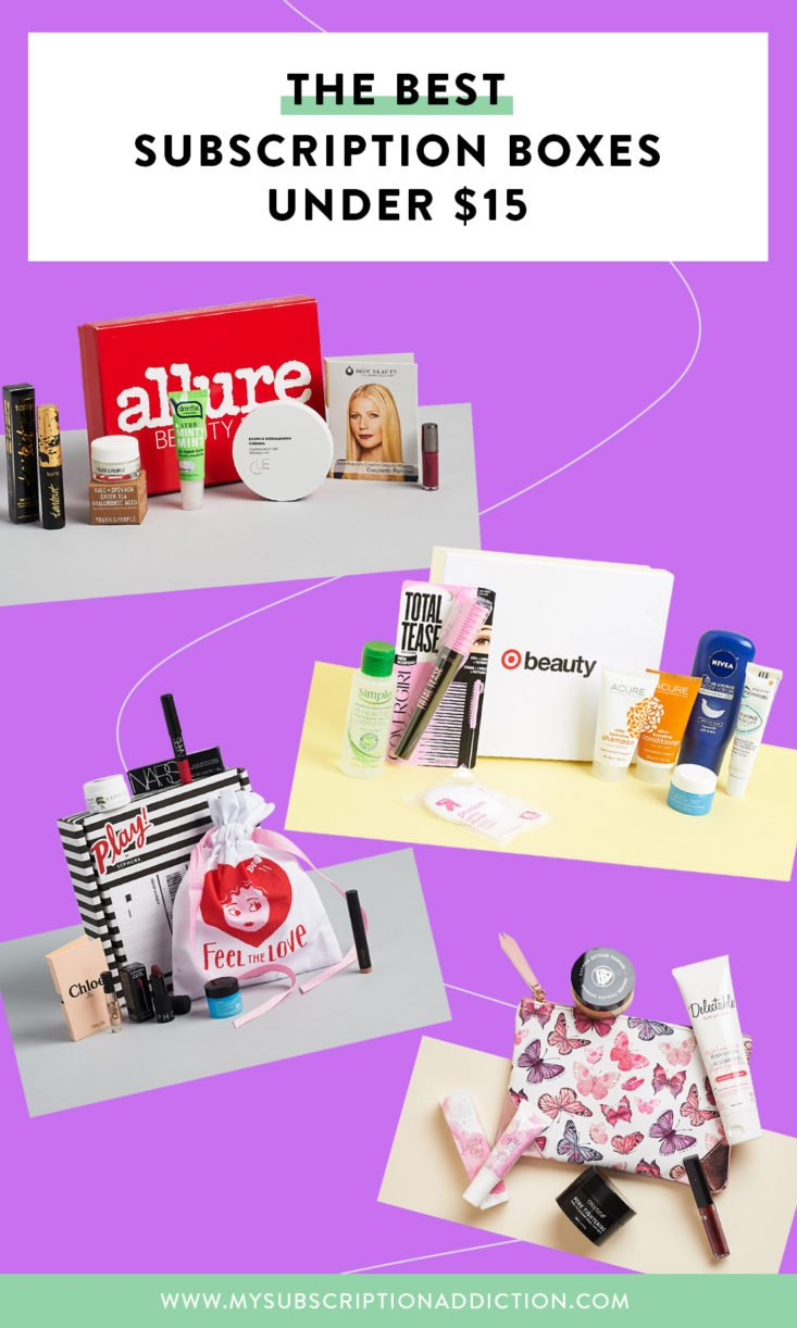 Best Affordable & Cheap Subscription Boxes