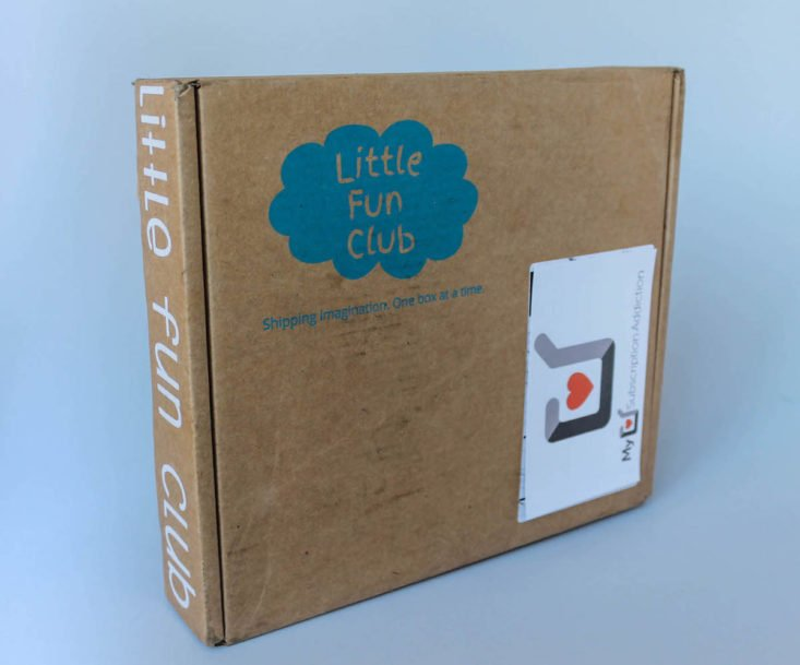 closed Little Fun Club box