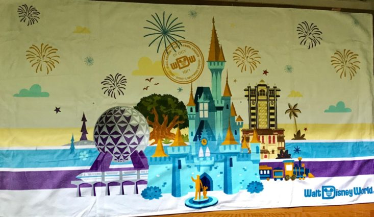 Walt Disney World Beach Towel