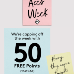 Birchbox Aces Week Day 4 – 50 Extra Points to Spend!