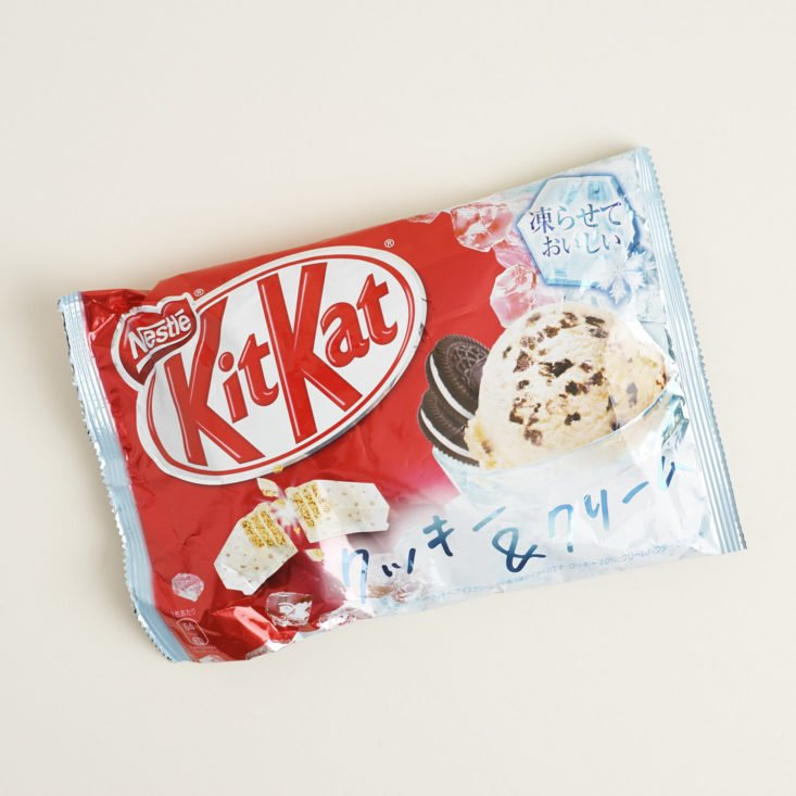 Kit Kat Cookies and Ice Cream