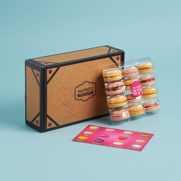Pastreez Macaron Subscription Box July 2018 Review