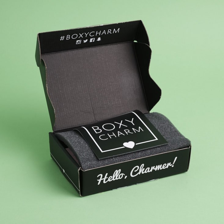 open Boxy Charm box