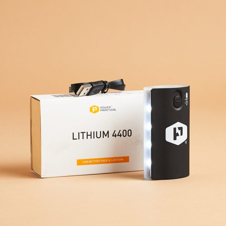 Power Practical Lithium 4400 Battery Pack