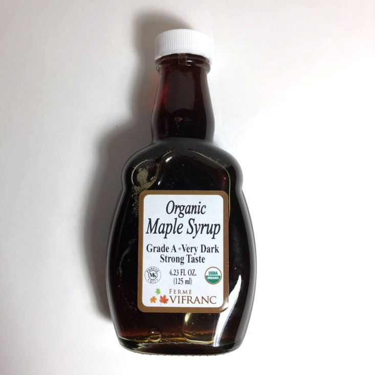 Try the World August 2018 - maple syrup
