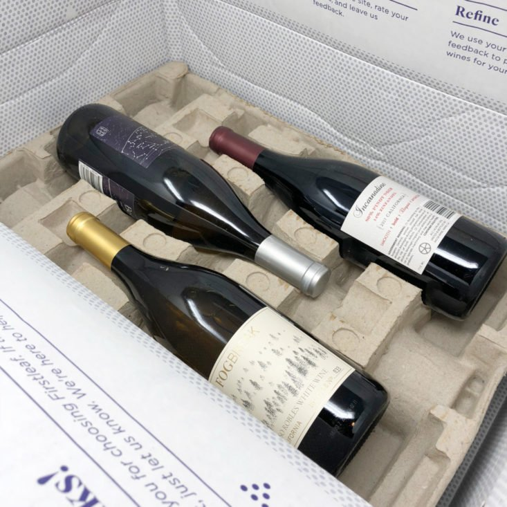First Leaf Wine October 2018 - Box Open Top 2