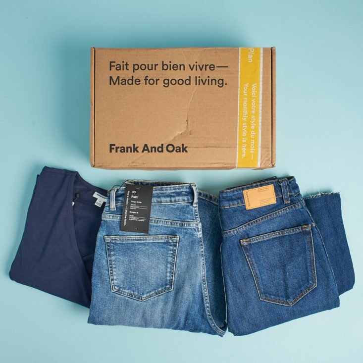 frank and oak unboxing and review