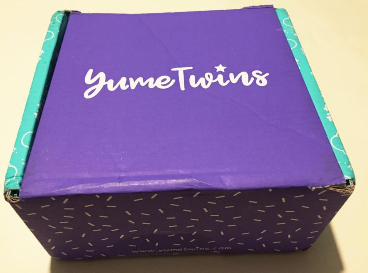 YumeTwins Subscription Box October 2018 - Box Top