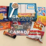 "Snack Crate Subscription Box ""Canada"" Review + Coupon"