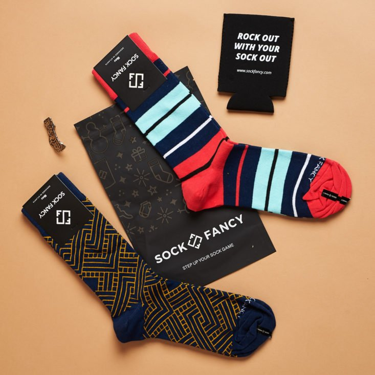 sock fancy november socks