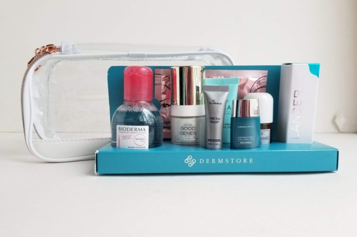 Target Beauty Box Best of Dermstore Holiday 2018 all items