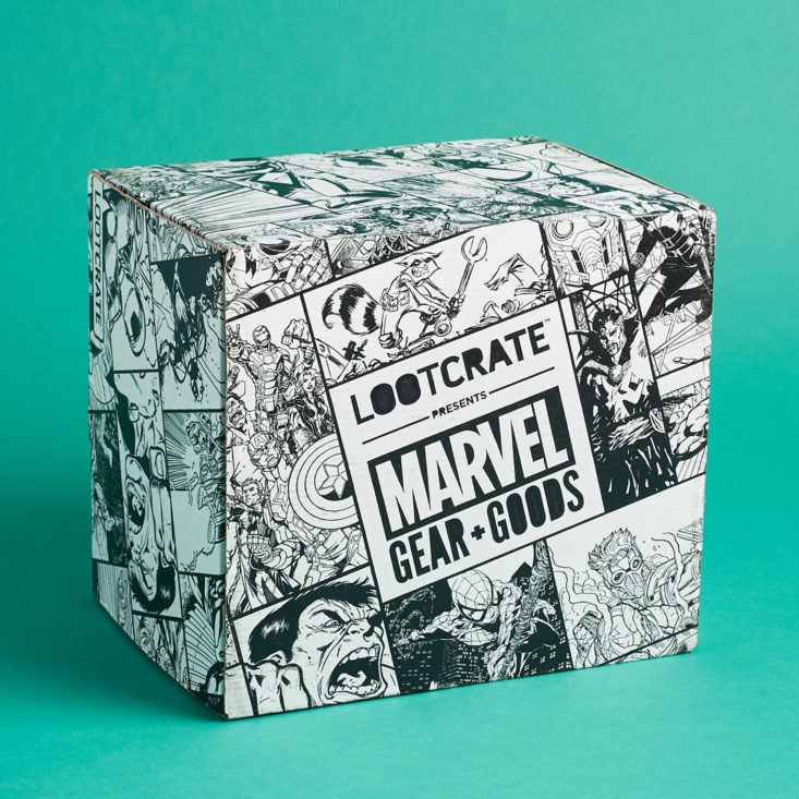 Marvel Gear and Goods December 2018 - Box Review Front